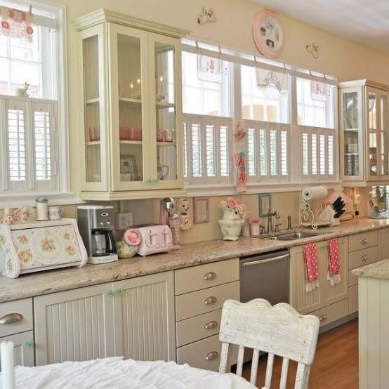 Shabby Chic Kitchen Decor: Maison Decor Romantique