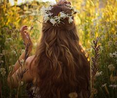 La fille qui peigne ses cheveux. Jane Kieffer D1e662f1