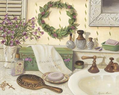 Maison decor romantique - Salle de bain romantique ...