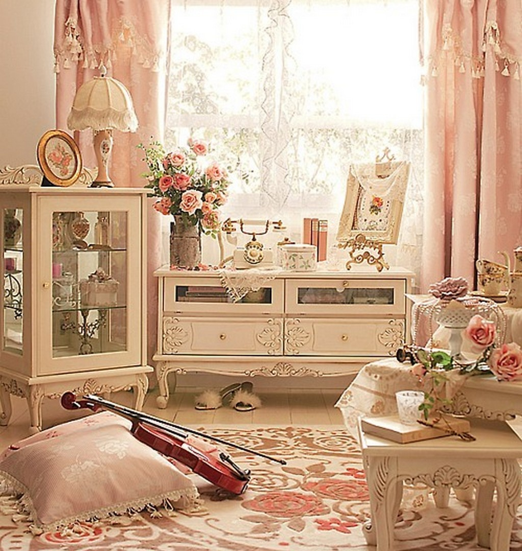 Maison decor romantique for Decoration romantique