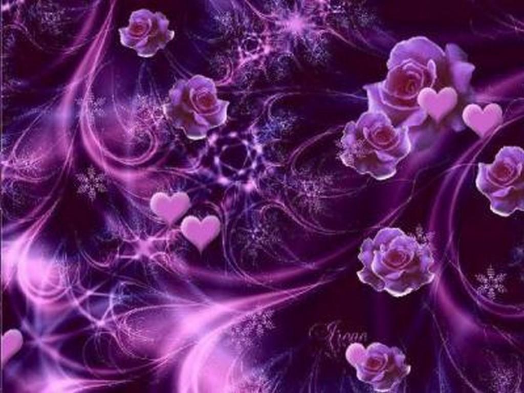 Zz Fond Ecran Couleur Violet Mauve