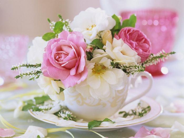 Un joli bouquet de roses for Un bouquet de roses